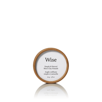 Wise // MEN CLAY POMADE REFILL 60 ml | GROOMING at LOWELL MTL