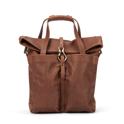 LOWELL // MANSFIELD NAPPA LEATHER TAN | BAGS at LOWELL MTL