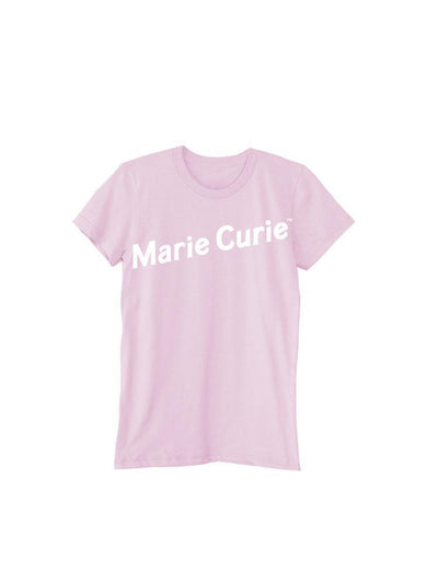 PONY // T-SHIRT MARIE CURIE ROSE / PINK T-SHIRT XS/TP | T-SHIRTS at LOWELL MTL