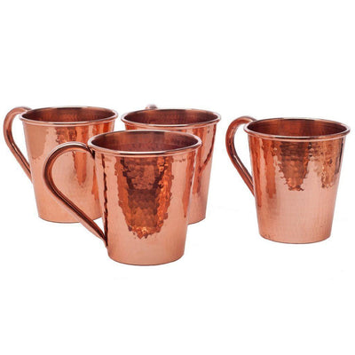 SERTODO COPPER // MOSCOW MULE MUG 18 OZ COPPER HANDLE  | BARWARE at LOWELL MTL