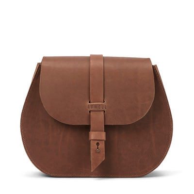 LOWELL // SAINT-GERMAIN OUTLAW LEATHER TAN | BAGS at LOWELL MTL