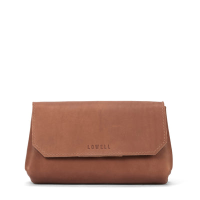 LOWELL // LIEGE OUTLAW LEATHER TAN | BAGS at LOWELL MTL