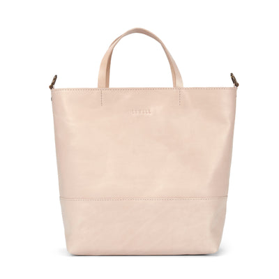 LOWELL // ATWATER VEGGIE TANNED LEATHER NUDE | BAGS at LOWELL MTL