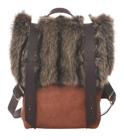 LOWELL // AMSTERDAM RECYCLED FUR RACOON | FUR BAGS at LOWELL MTL