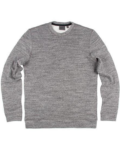 NAKED AND FAMOUS // CORE SLIM CREW CHARCOAL | SWEATERS at LOWELL MTL