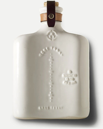 MISC. GOODS CO. // CERAMIC FLASK WHITE | CERAMICS at LOWELL MTL