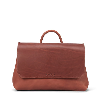 LOWELL // LANGELIER OUTLAW LEATHER COGNAC | BAGS at LOWELL MTL
