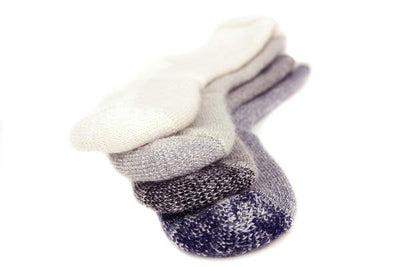 THERMAL SOCKS MOTTLED BLACK