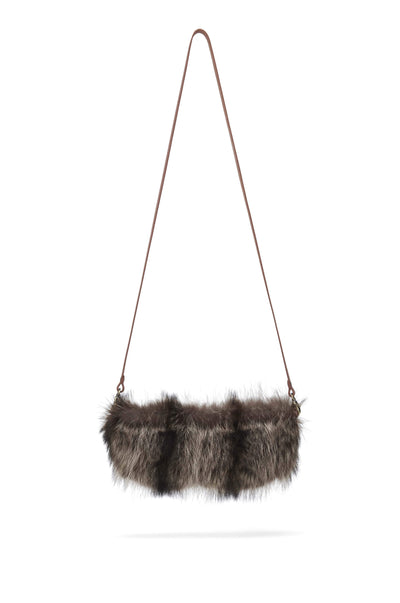 LOWELL // LABELLE FUR NATURAL RACOON | FUR BAGS at LOWELL MTL