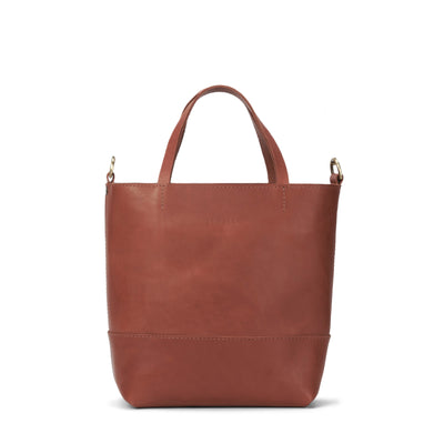 LOWELL // ATWATER OUTLAW LEATHER PETIT COGNAC | BAGS at LOWELL MTL