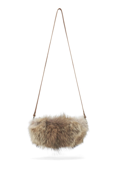 LOWELL // LABELLE FUR COYOTE II | FUR BAGS at LOWELL MTL