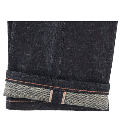 SLUB STRETCH SELVEDGE WITH BEIGE WEFT