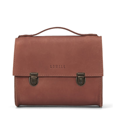 LOWELL // SAINT-PAUL OUTLAW LEATHER COGNAC | BAGS at LOWELL MTL