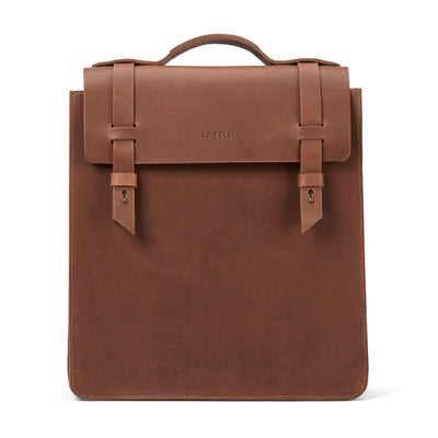 LOWELL // SAINT-ZOTIQUE OUTLAW LEATHER TAN | BAGS at LOWELL MTL