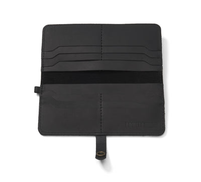 LOWELL // n. 104 NAPPA BLACK | WALLET at LOWELL MTL