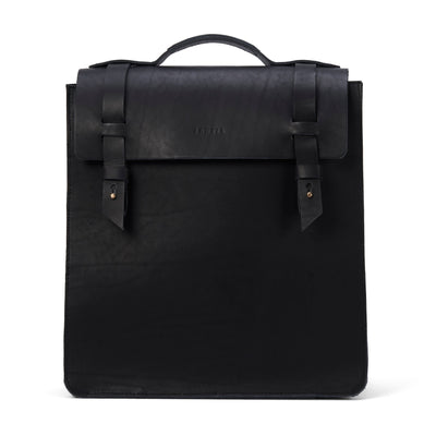 LOWELL // SAINT-ZOTIQUE OUTLAW LEATHER BLACK | BAGS at LOWELL MTL