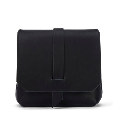 LOWELL // SAINT-JACQUES OUTLAW LEATHER BLACK | BAGS at LOWELL MTL