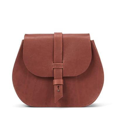 LOWELL // SAINT-GERMAIN OUTLAW LEATHER COGNAC | BAGS at LOWELL MTL