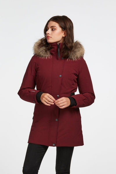 AUDVIK // HAVANA BORDEAUX | JACKETS at LOWELL MTL