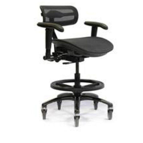 STEALTH PRO CHAIR - MIDNIGHT BLACK - LARGE SIZE SEAT