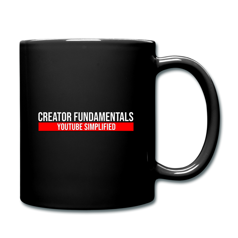 Creator Fundamentals Create Your Freedom Mug - black