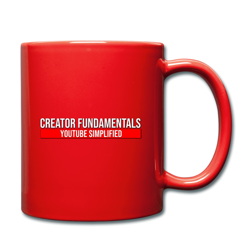 Creator Fundamentals Create Your Freedom Mug - red