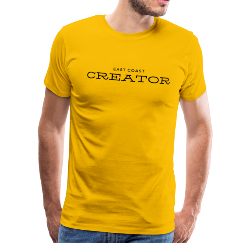 East Coast Creator - Creator Threads - Unisex Premium T-Shirt - sun yellow