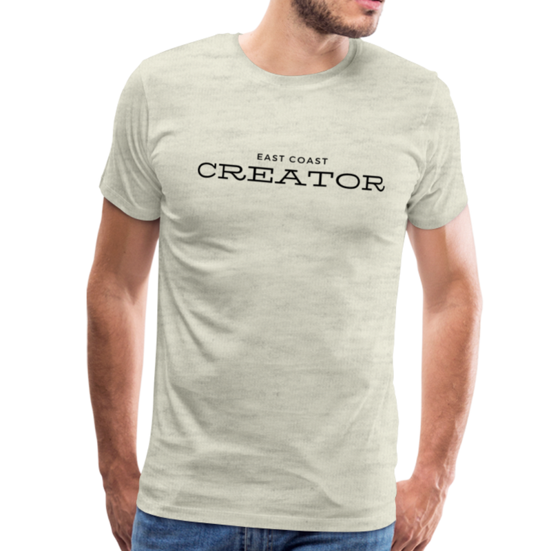 East Coast Creator - Creator Threads - Unisex Premium T-Shirt - heather oatmeal