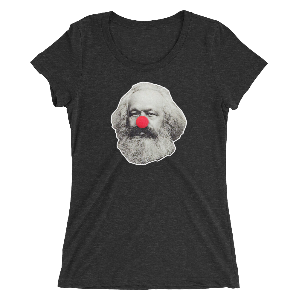 Clown Marx Ladies' short sleeve t-shirt