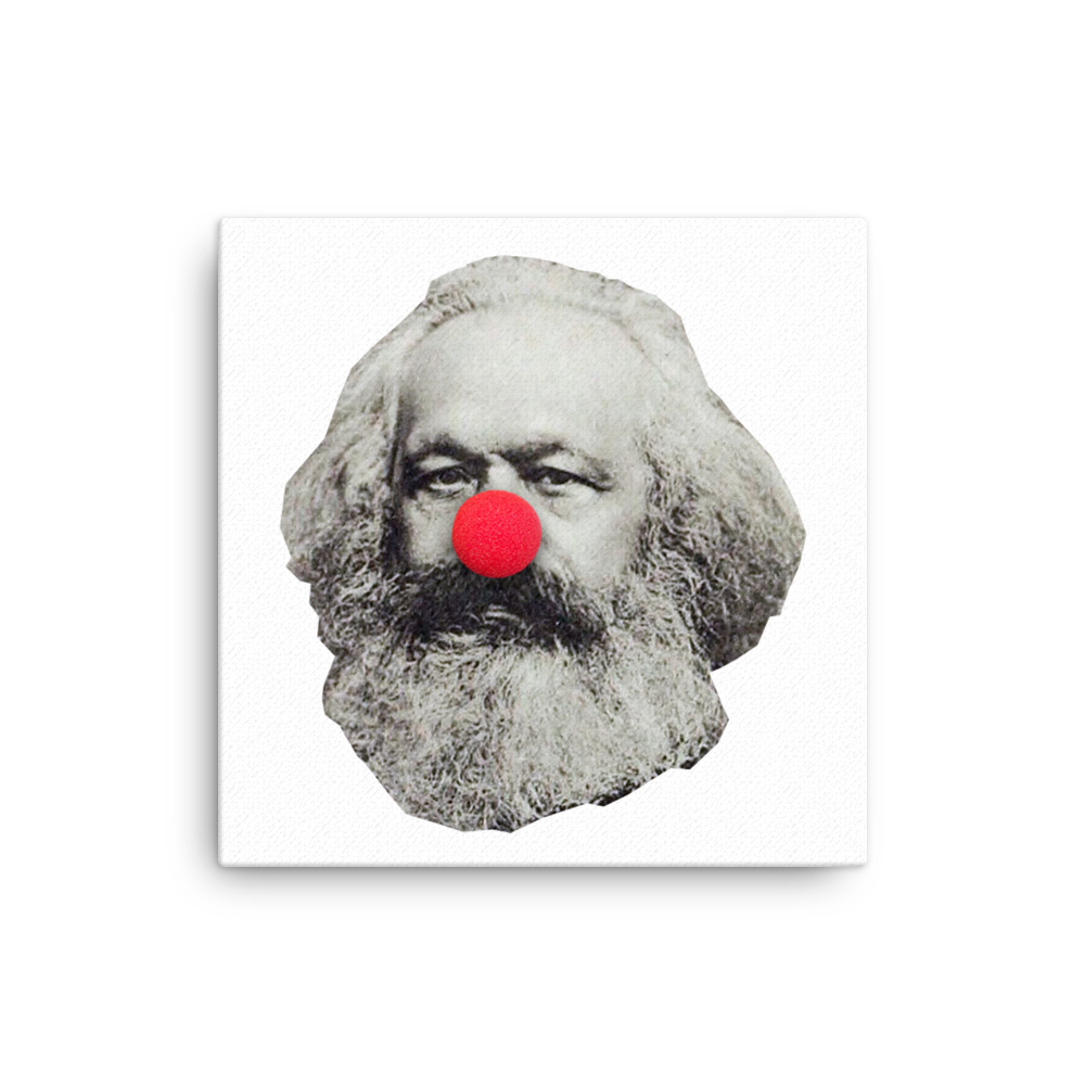 Clown Marx Canvas