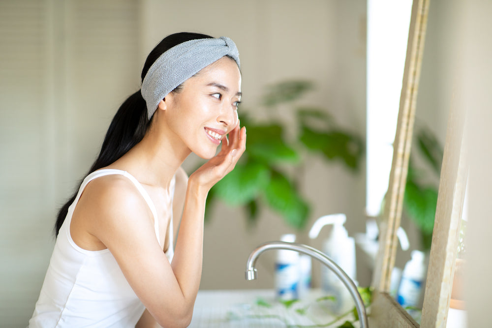 J-Beauty skincare routine for oily skin