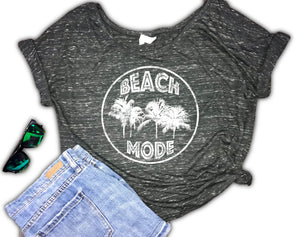 Beach Mode Women's Slouchy Shirt