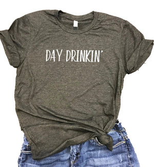 Day Drinkin' Unisex Relaxed Fit Soft Blend Tee