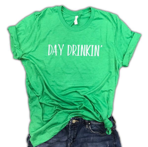 St. Patrick's Day Drinkin' St. Patty's Irish Unisex Relaxed Fit Soft Blend Tee
