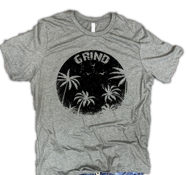 Grind Unisex Relaxed Fit Soft Blend Tee