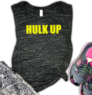 Hulk Up Women's Workout Muscle Tank