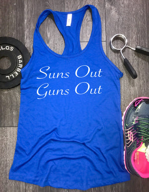 suns out guns out tank top, workout tank tops with sayings, workout tank, gym tank, muscle tank, workout clothes, workout tank womens
