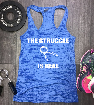 the struggle is real weight clip workout tank, workout tank, gym tank, funny gym tank, best workout tank, workout tank top, masquata, swole