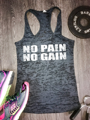 no pain no gain workout tank, fitness motivation, best workout tank, workout tank top, womens workout tank, women's workout tank, workout