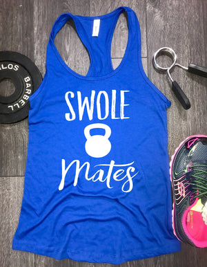 swole mates racerback gym tank, womens workout tank, gym tank, workout tank, workout tank top, workout clothes, best workout tank