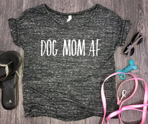 Dog mom af slouchy womens tshirt, fur mom shirt, black marble, fur baby, funny dog shirt, dog shirt, funny womens dog shirt, dog shirt funny