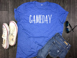 Gameday womens jersey shirt, gameday tees, tailgate shirt, womens football shirt, game time shirt, womens gameday shirt, womens gameday tee