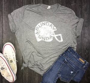 Sunday Funday womens jersey shirt, sunday football shirt, womens football shirt, brunch shirt, weekend shirt, tailgate shirt, weekend vibes
