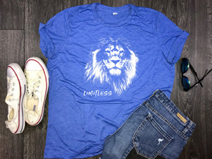 Limitless Lion Women's Triblend Shirt
