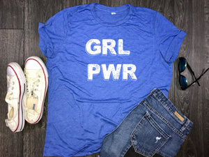 feminism, girl power shirt, girl power t shirt, girl power tshirt, inspirational, gift for her, feminist, grl pwr shirt, motivational