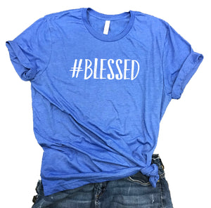 Blessed Unisex Relaxed Fit Soft Blend Tee
