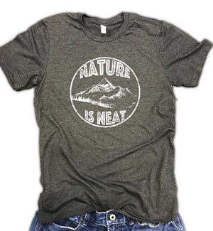 Nature is Neat Soft Blend Unisex Tee