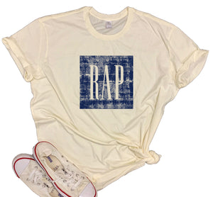RAP Vintage Distressed Unisex Shirt