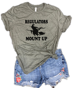 Regulators Mount Up Unisex Relaxed Fit Soft Blend Tee