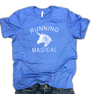 Running is Magical Unisex Soft Blend Shirt